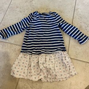 Crazy 8 12-18 month long sleeve top